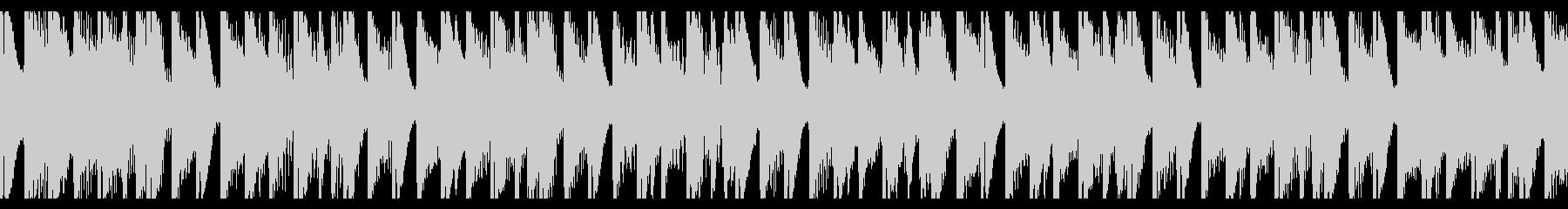 フィットネス(ループ)の未再生の波形
