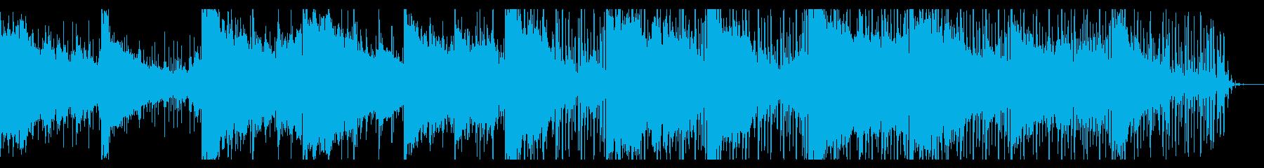 ダークなシネマティックIDMの再生済みの波形