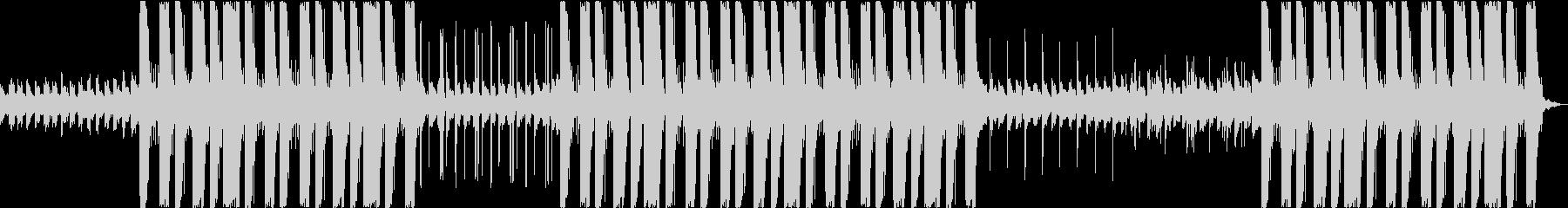 夜・月・トラップ・ヒップホップ・低音の未再生の波形