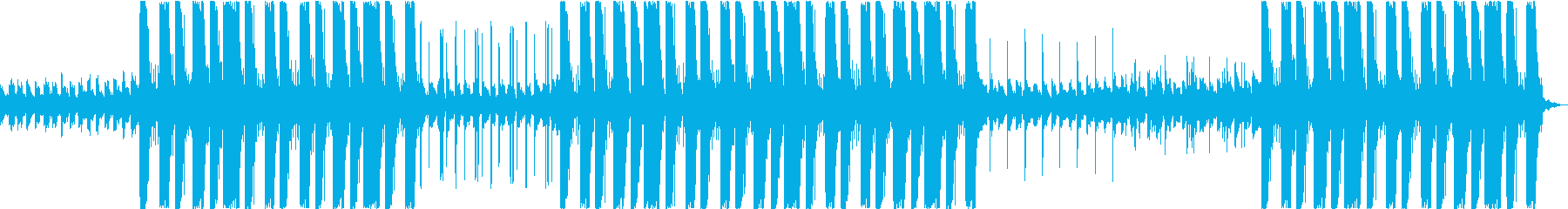 夜・月・トラップ・ヒップホップ・低音の再生済みの波形