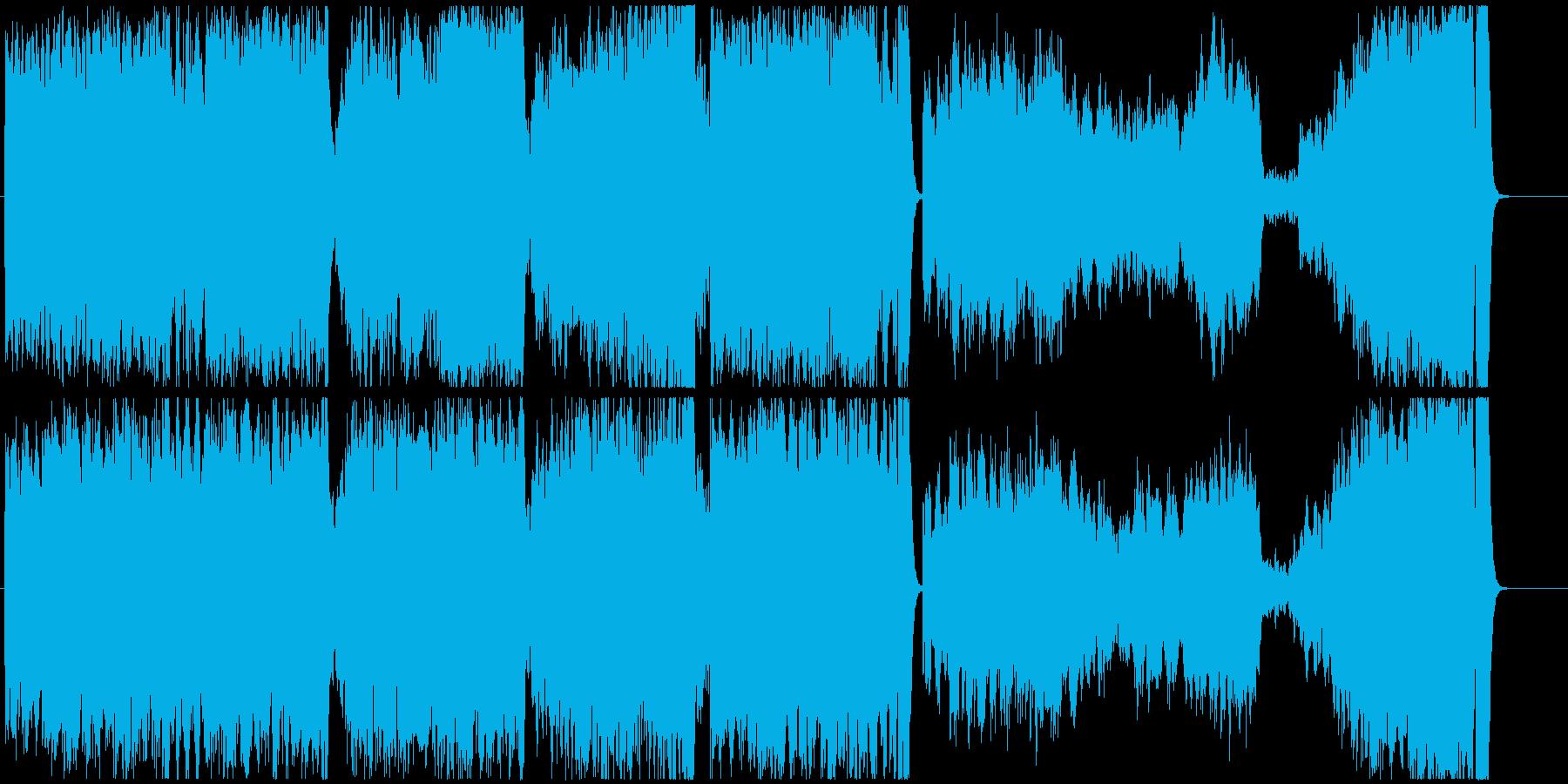 犬のお父さんのCMでお馴染みのクラシックの再生済みの波形