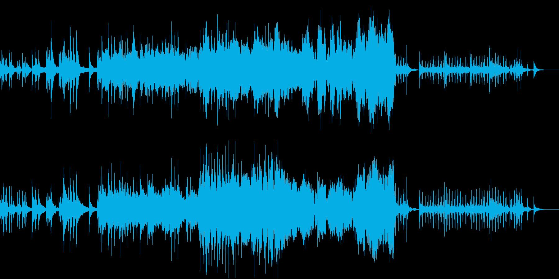 時間の移ろいを感じる穏やかなピアノBGMの再生済みの波形