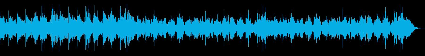 神秘的なシンセメインのアンビエントの再生済みの波形
