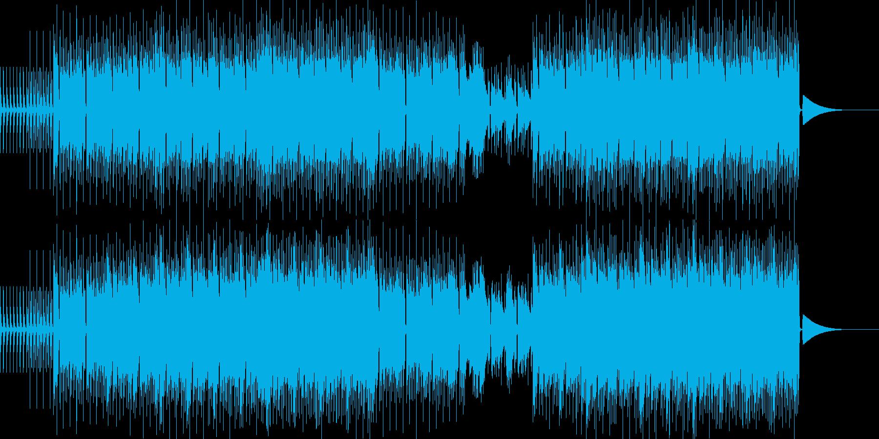 test3の再生済みの波形