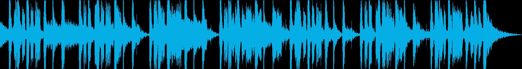 伝統的なレゲエサウンドの遅いレゲエ...の再生済みの波形