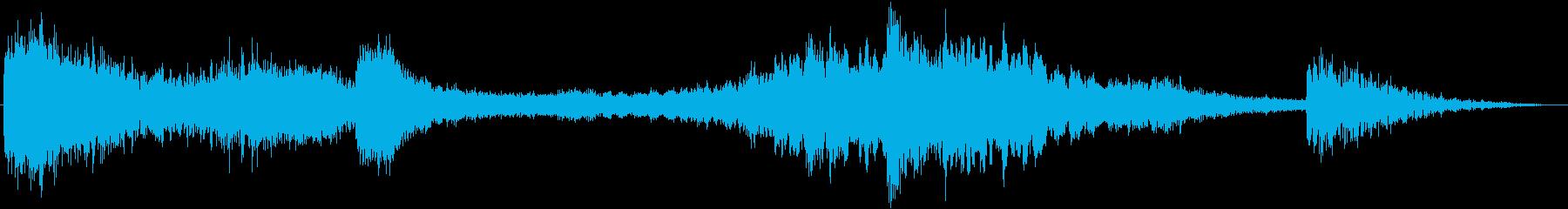 【ホラー】 トレーラー 「気配」の再生済みの波形