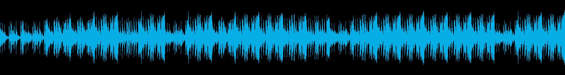 映画音楽緊迫感壮大パーカッションリズムの再生済みの波形