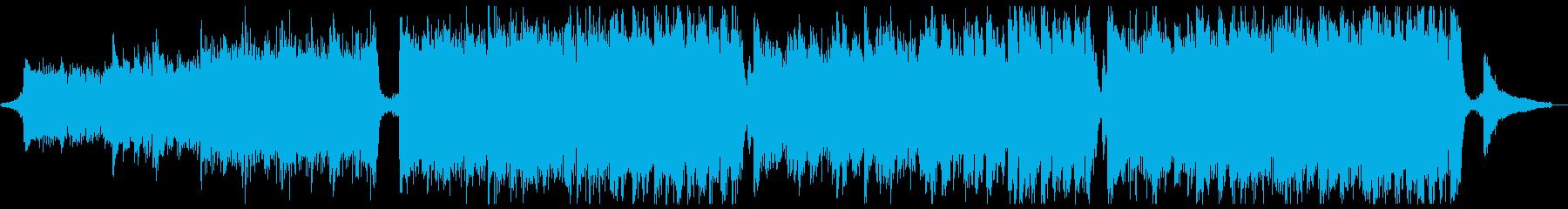スポーツ格闘オーケストラ:効果音抜きの再生済みの波形