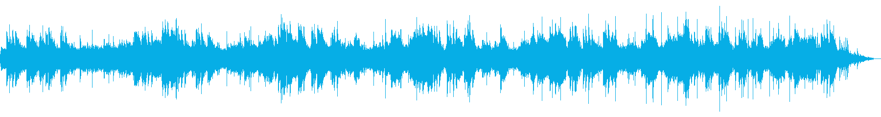 高品質 ミニマル アンビエント ピアノ付の再生済みの波形
