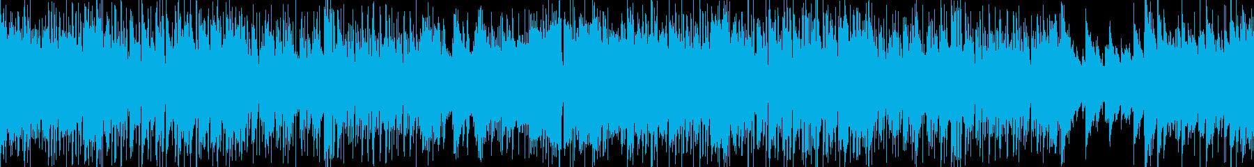 【シーン】教室での日常会話の再生済みの波形