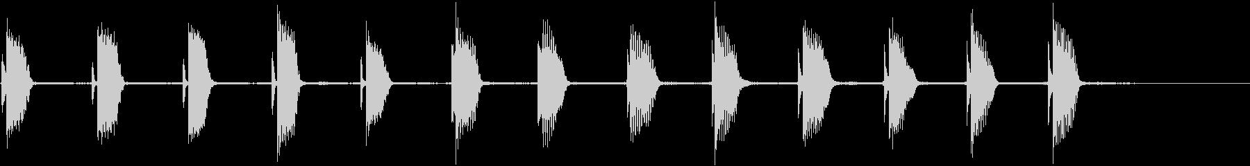 エレキギター:ロング、ゆっくり登る...の未再生の波形