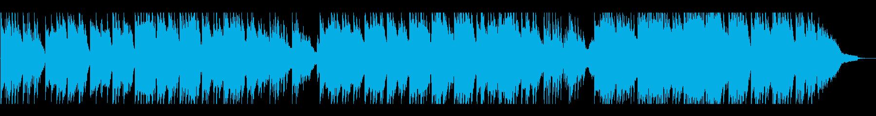 伝統的な美しいクリスマスキャロルの再生済みの波形