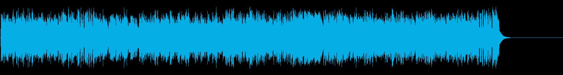 リゾート風の軽快なポップ(イントロ~…)の再生済みの波形