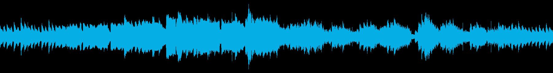 和の雰囲気のサウンドの再生済みの波形