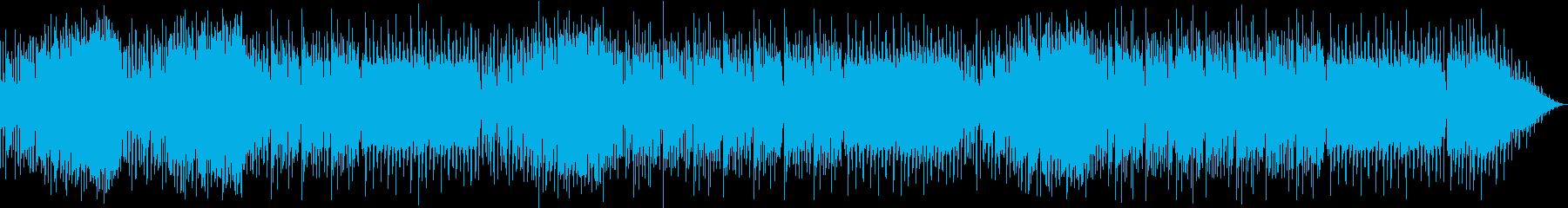軽快で爽快なEDM・ハウス-シンセリードの再生済みの波形