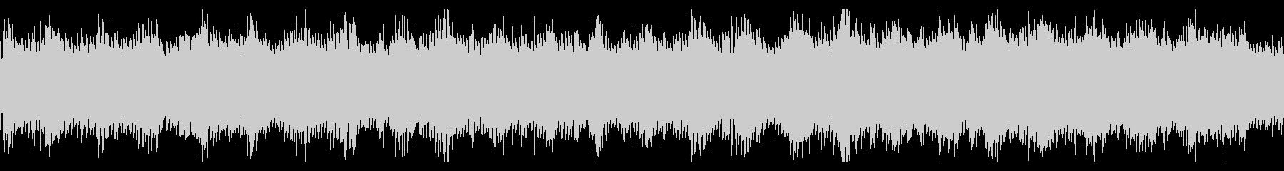 ゲームのダンジョン・洞窟系BGMの未再生の波形