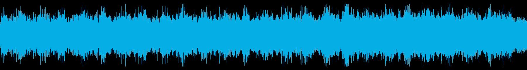 ゲームのダンジョン・洞窟系BGMの再生済みの波形