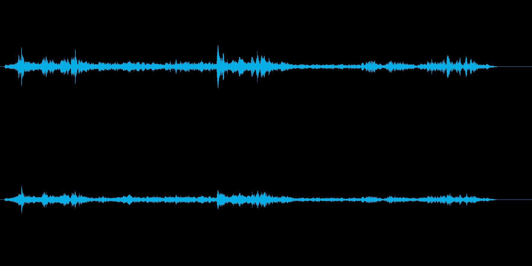 テレビ;音楽とアナウンサーによるゲ...の再生済みの波形