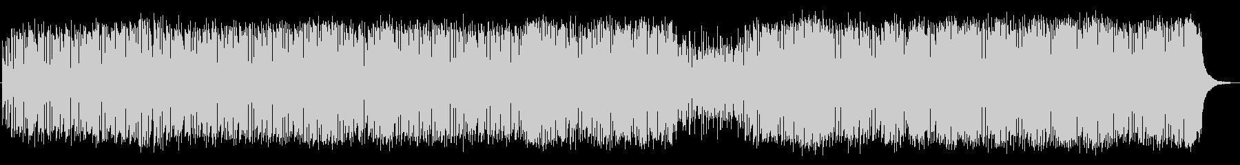 パーカッシヴなジャズ・ファンクの未再生の波形