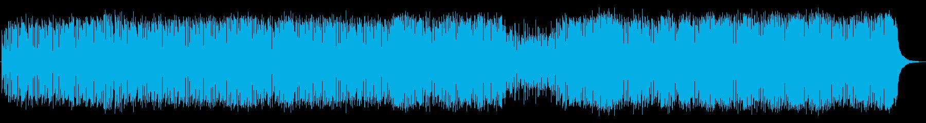 パーカッシヴなジャズ・ファンクの再生済みの波形
