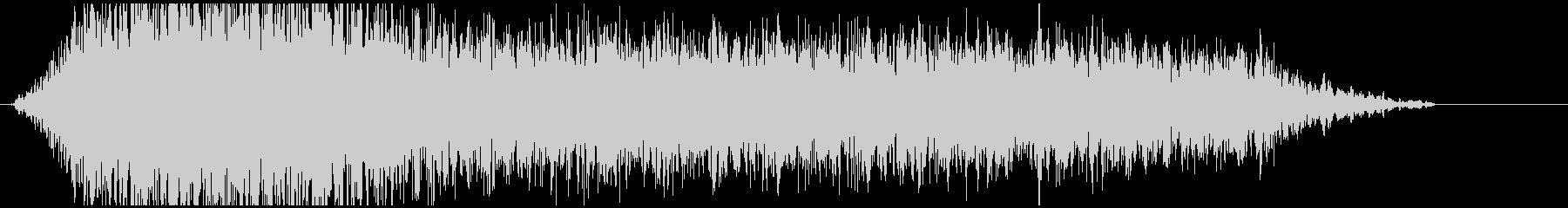 ドローン G 低ノイズ02の未再生の波形