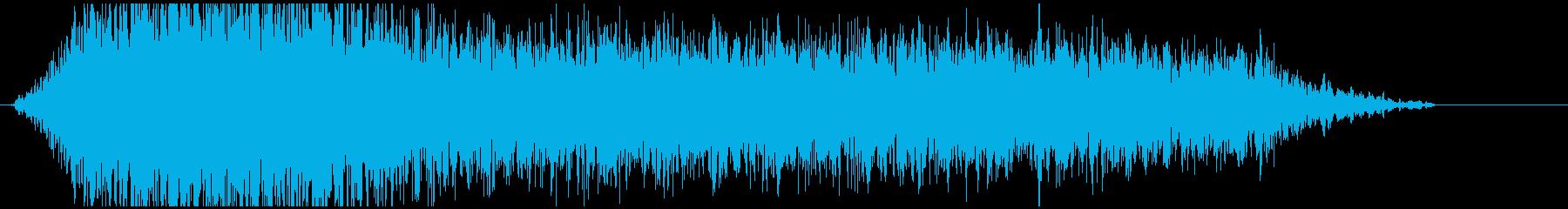 ドローン G 低ノイズ02の再生済みの波形