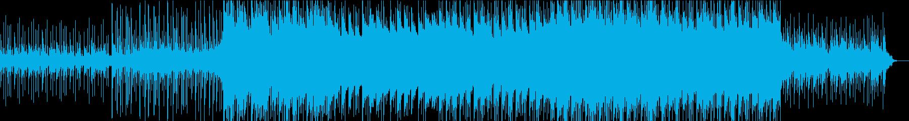 夏祭りの幻想的な夜・和風ヒップホップの再生済みの波形