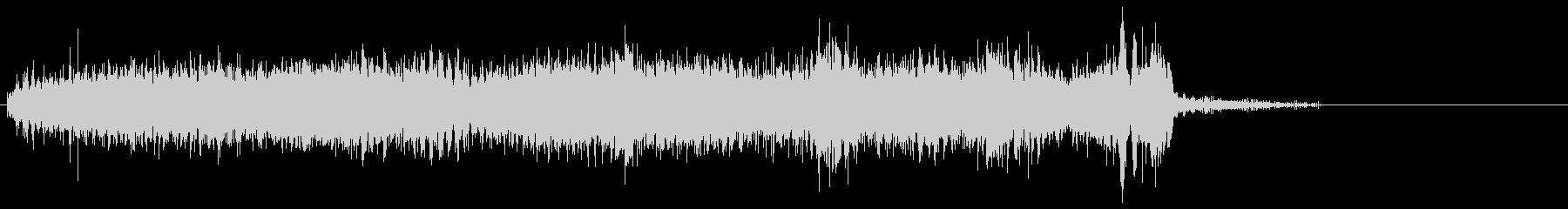 電気ドリル5の未再生の波形
