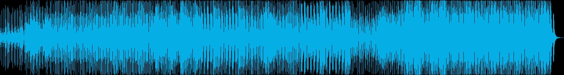 エレクトリックな三味線と尺八の再生済みの波形