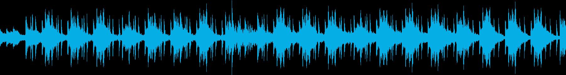 大人の雰囲気漂うlofiループインストの再生済みの波形