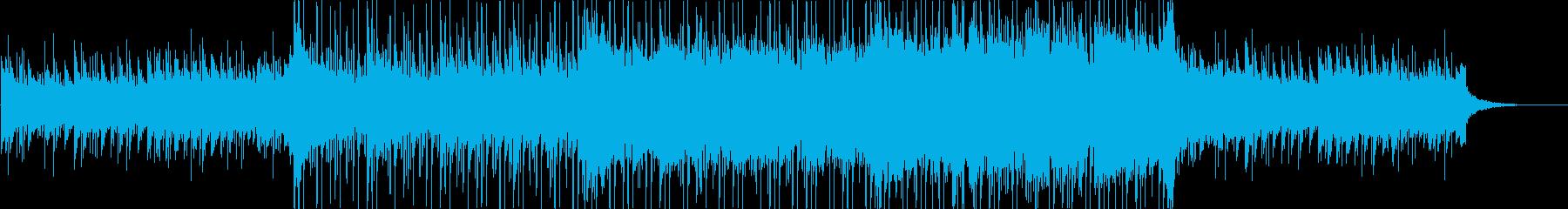 ドラマチックで感情に訴える神秘的サウンドの再生済みの波形