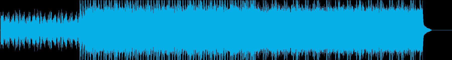 激しいギターリフの曲です!の再生済みの波形