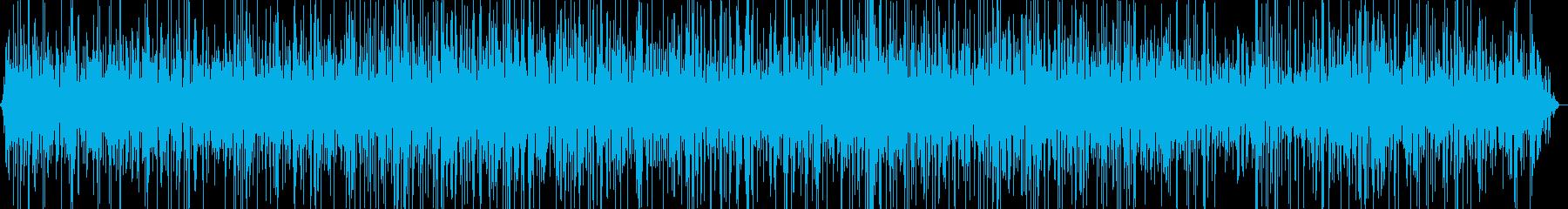 温泉で湯舟に浸かっている音の再生済みの波形