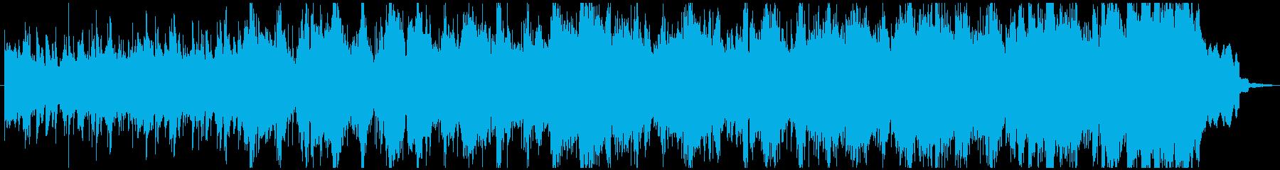 テナーサックス主体のワルツです。の再生済みの波形