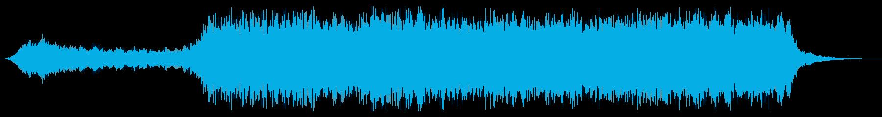 上昇 中国のオルガンゴングライジン...の再生済みの波形