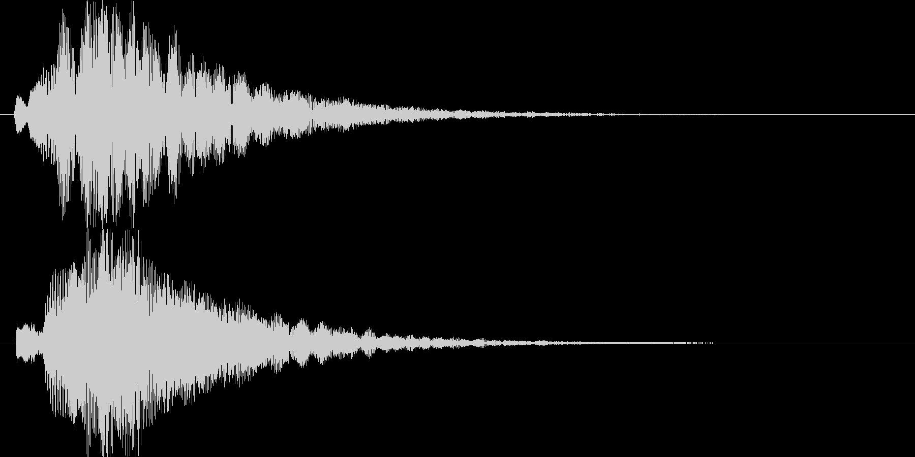 シンプルでキレイめなアイキャッチ1の未再生の波形