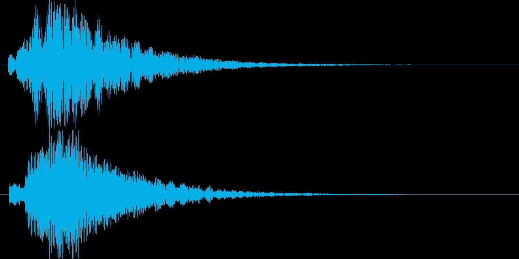 シンプルでキレイめなアイキャッチ1の再生済みの波形