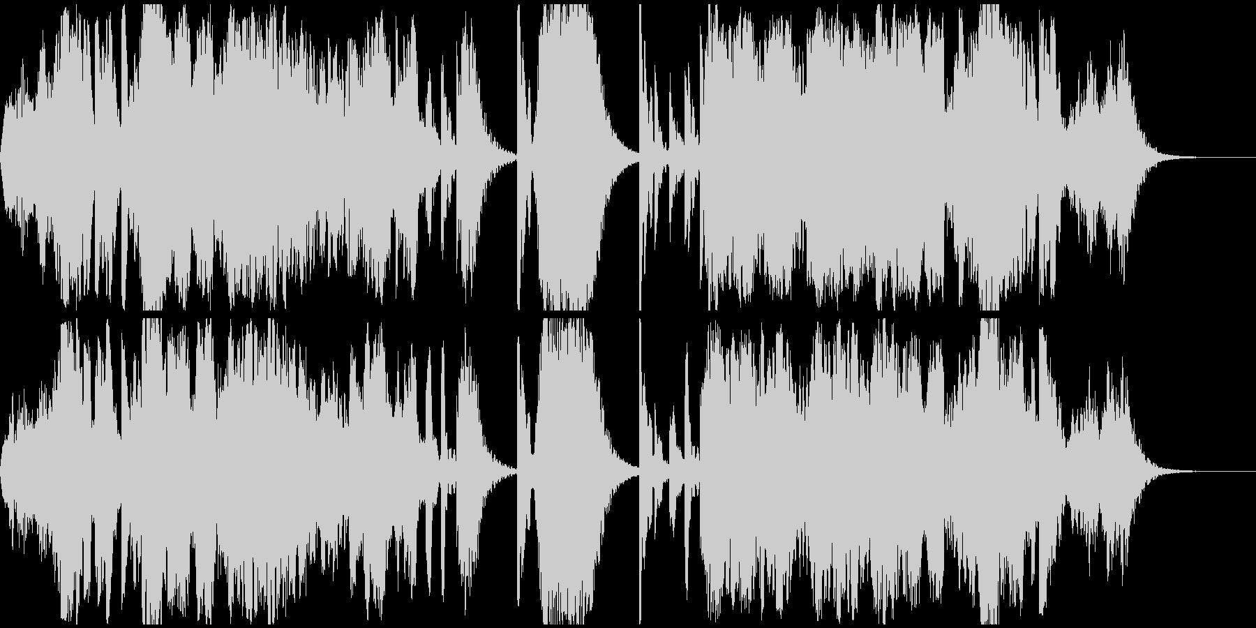 アジア的なヒーリング音楽(癒し,回想)の未再生の波形