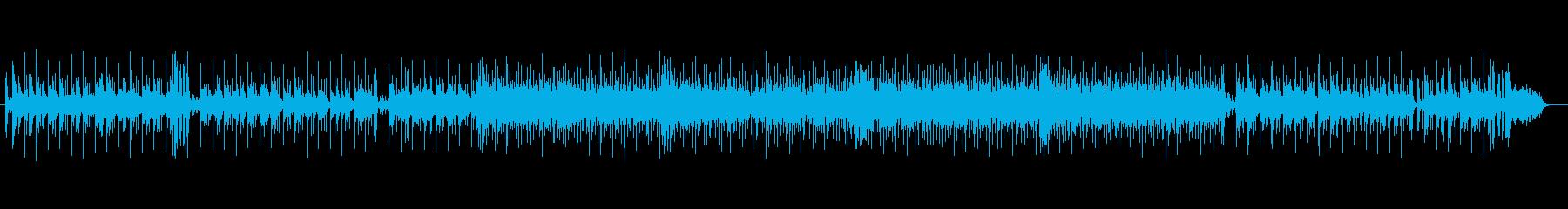 ボサノバ(ダイナミックなピアノ)の再生済みの波形