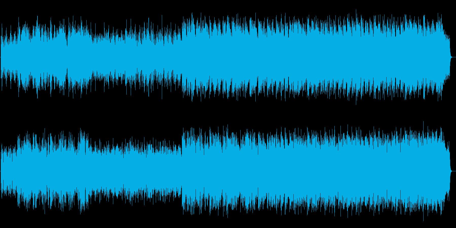 切なくちょっと懐かしいバラードの再生済みの波形