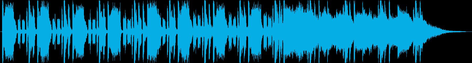短縮版】ダブステップ コミカル オシャレの再生済みの波形