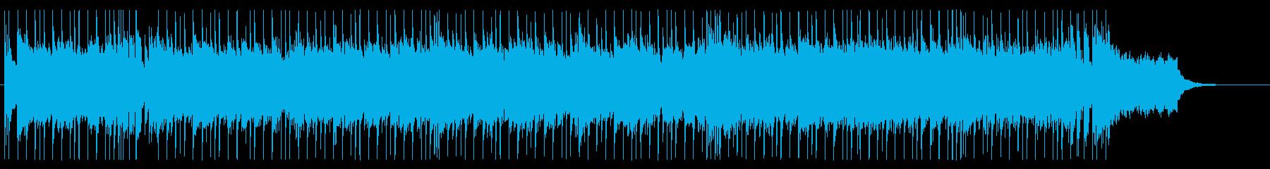 恋を予感させる爽やかなポップス系BGMの再生済みの波形