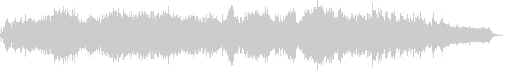 感動的で穏やかなRPG系オーケストラの未再生の波形