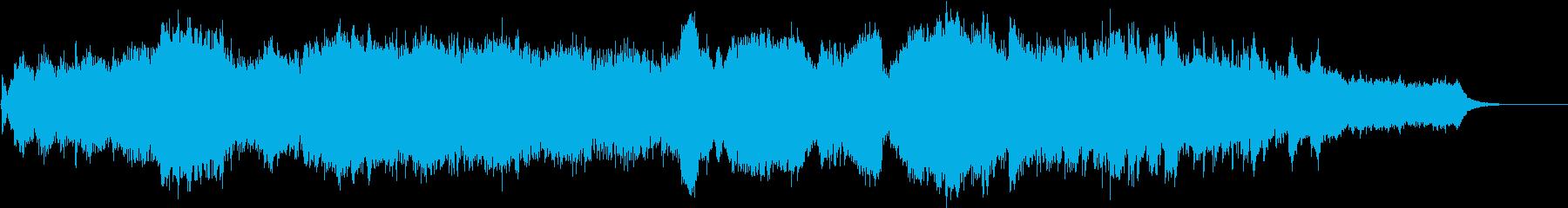 感動的で穏やかなRPG系オーケストラの再生済みの波形