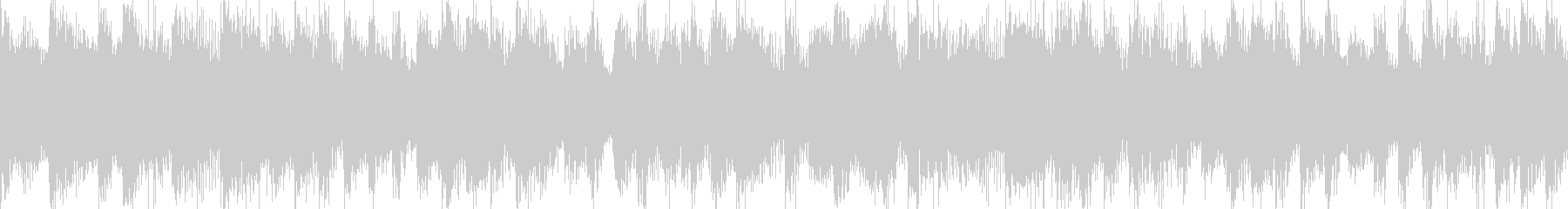 ピアノメインの昔懐かしいバンドサウンドの未再生の波形