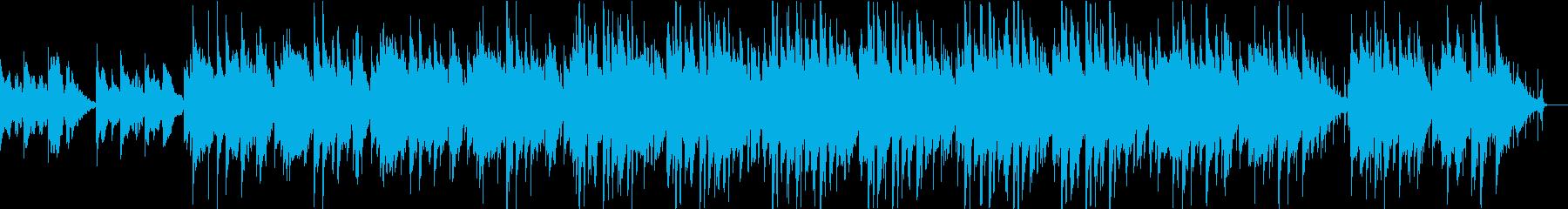 洗練されたスタイリッシュな雰囲気の曲の再生済みの波形