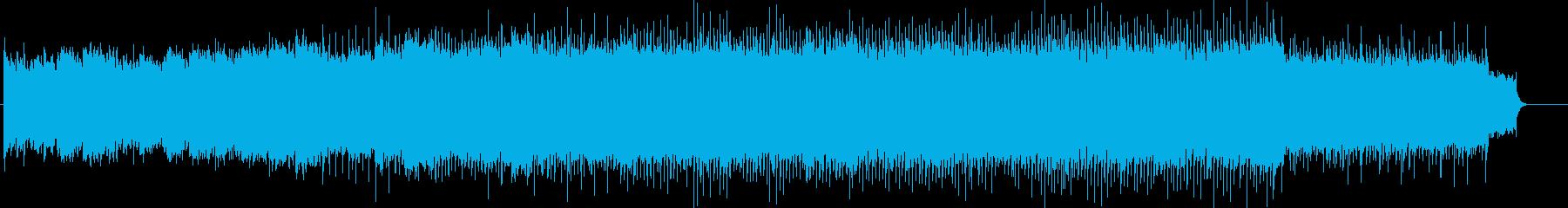 宇宙を思わせる幻想的な曲の再生済みの波形