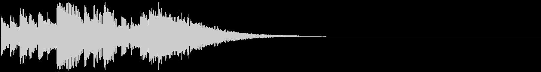 シンセアルペジオ、お知らせ、着信音の未再生の波形