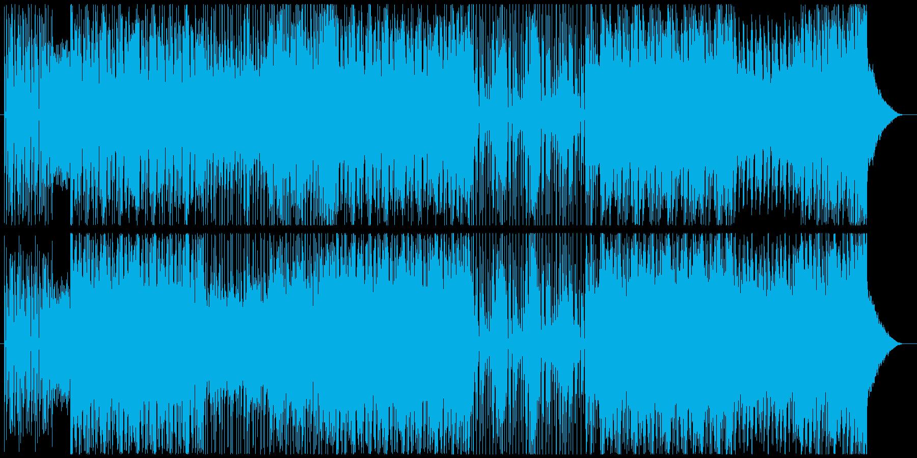 オープニングSEや入場曲に EDMの再生済みの波形