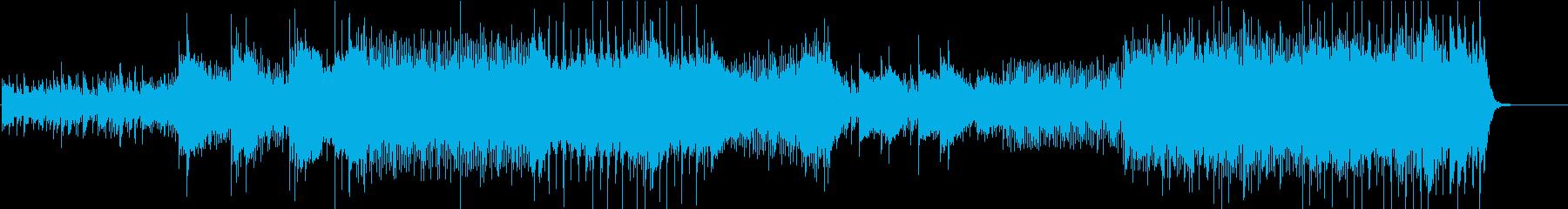 2台ピアノの掛け合いが心地よいピアノ曲の再生済みの波形